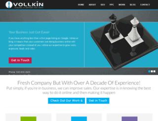 vollkin.com screenshot