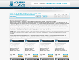 volperu.com screenshot