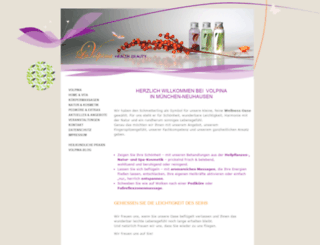 volpina-naturspa.de screenshot