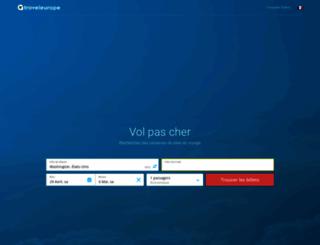 vols.traveleurope.com screenshot
