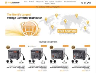 voltagetransformers.com screenshot