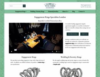 voltairediamonds.co.uk screenshot