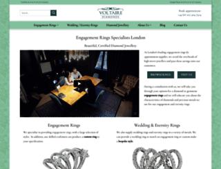 voltairediamonds.com screenshot