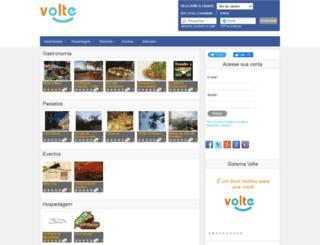 volte.com.br screenshot
