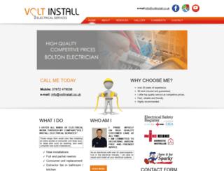 voltinstall.co.uk screenshot
