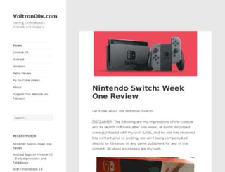 voltron00x.com screenshot