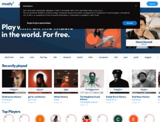 volumeet.com screenshot
