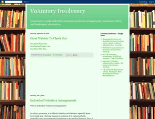 voluntaryinsolvency.blogspot.com screenshot