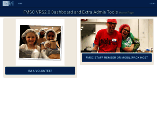 volunteer.fmsc.org screenshot