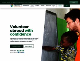 volunteeringsolutions.com screenshot