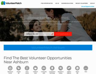 volunteermatch.org screenshot