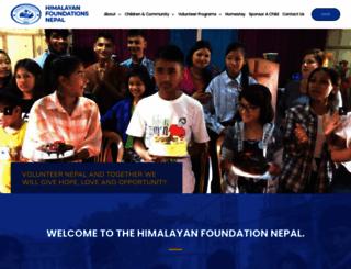 volunteerorphanage.org screenshot