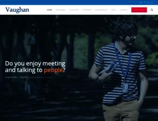 volunteers.grupovaughan.com screenshot