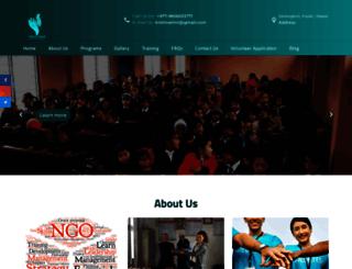 volunteerworkinnepal.org screenshot