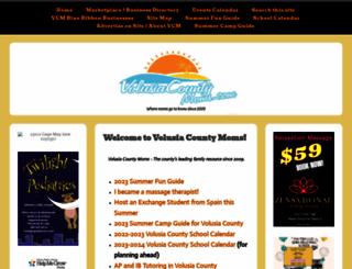 volusiacountymoms.com screenshot