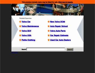 volva.com screenshot