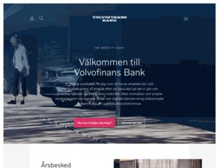 volvofinans.se screenshot