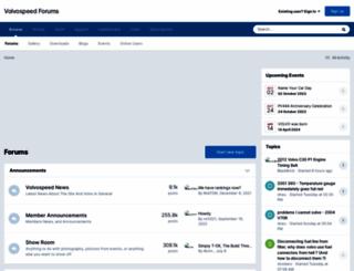 volvospeed.com screenshot