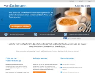 vomfachmann.de screenshot