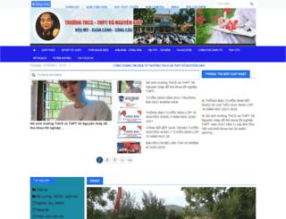 vonguyengiap.phuyen.edu.vn screenshot
