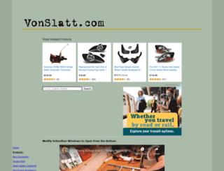 vonslatt.com screenshot