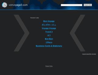 vonvoyage3.com screenshot