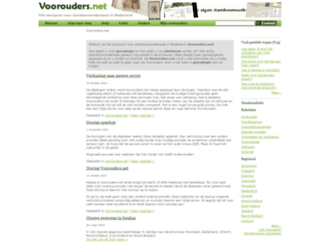 voorouders.net screenshot