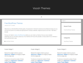 vooshthemes.com screenshot
