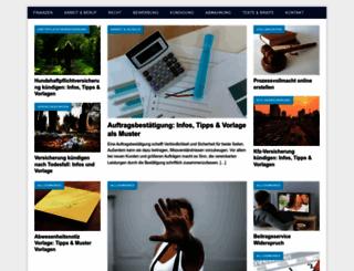 vorlage-formulare.com screenshot