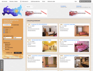 voronezh.nasutki.com screenshot