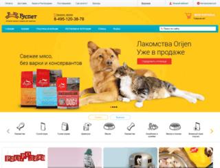 voronezh.ruspet.ru screenshot