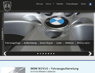 vorortwaschen.de screenshot