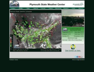 vortex.plymouth.edu screenshot