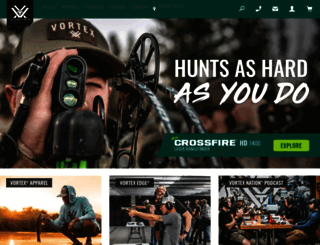 vortexoptics.com screenshot