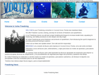 vortexspearfishing.com screenshot