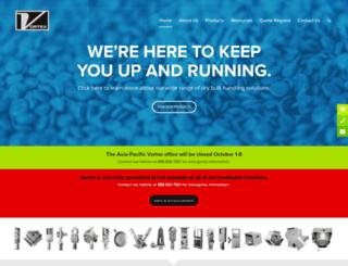 vortexvalves.com screenshot