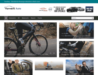 vorwerkauto.com screenshot