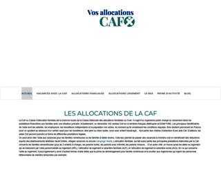 vos-allocations-caf.com screenshot