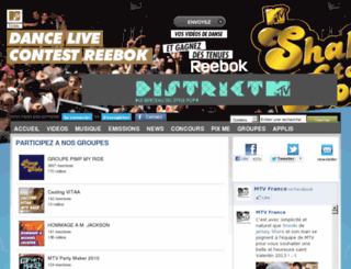 vos-videos.mtv.fr screenshot
