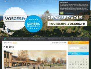 vosges.com screenshot