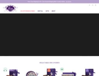 vosgeschocolates.com screenshot