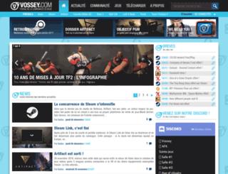 vossey.net screenshot