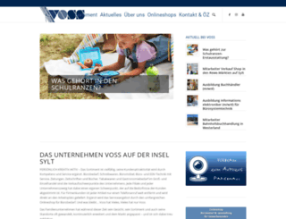 vosssylt.de screenshot