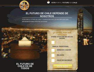 votafuturo.credochile.cl screenshot