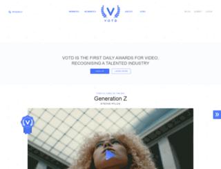 votd.tv screenshot