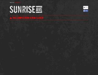 vote.sunriseavenue.de screenshot