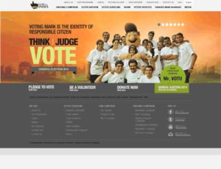 voteforindia.co.in screenshot