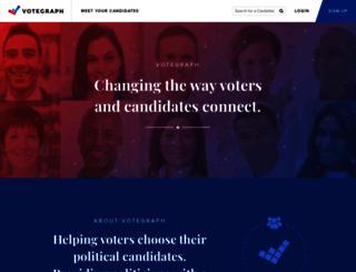 votegraph.com screenshot