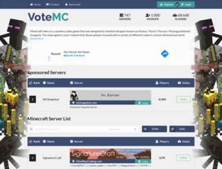 votemc.com screenshot