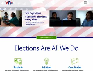 voterfocus.com screenshot